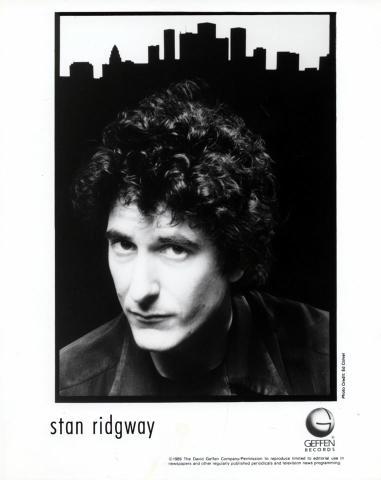 Stan Ridgway Promo Print