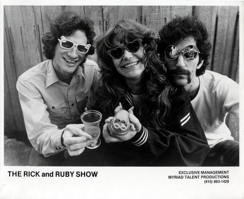 The Rick and Ruby Show Promo Print