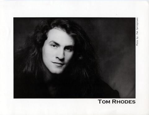 Tom Rhodes Promo Print