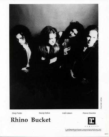 Rhino Bucket Promo Print