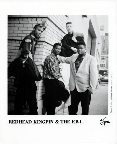 Redhead Kingpin & The FBI Promo Print