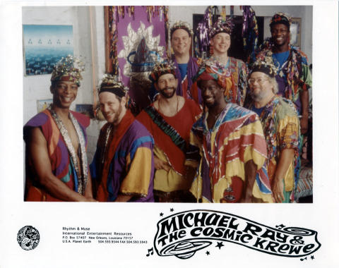 Michael Ray and the Cosmic Krewe Promo Print