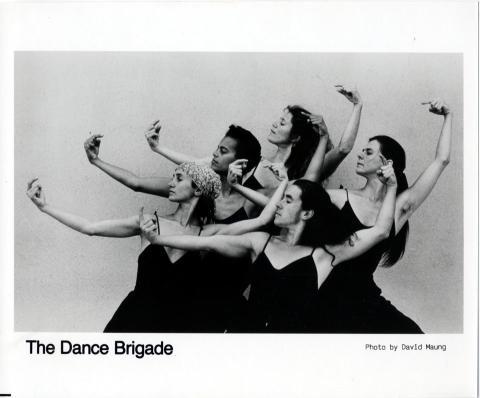 The Dance Brigade Promo Print