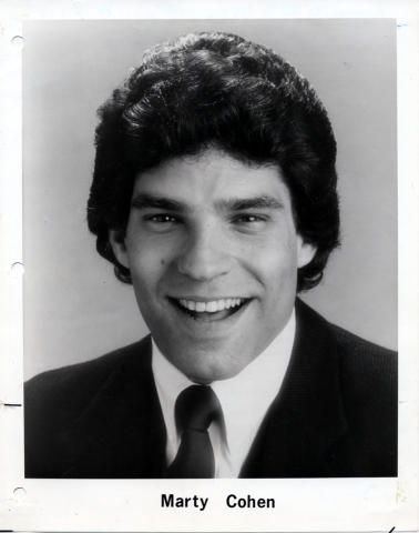 Marty Cohen Promo Print