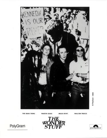 The Wonder Stuff Promo Print