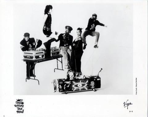 World Famous Supreme Team Show Promo Print