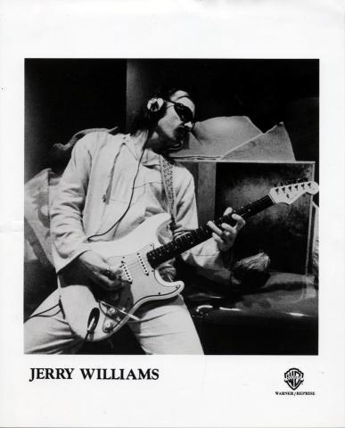 Jerry Williams Promo Print