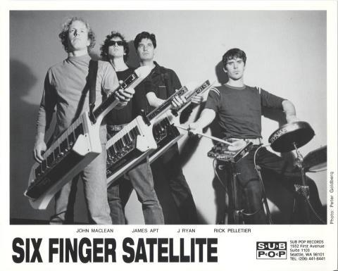 Six Finger Satellite Promo Print