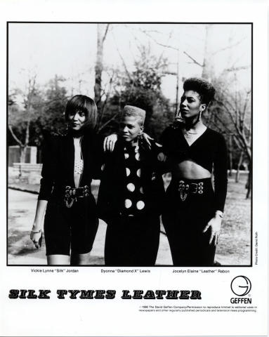Silk Tymes Leather Promo Print