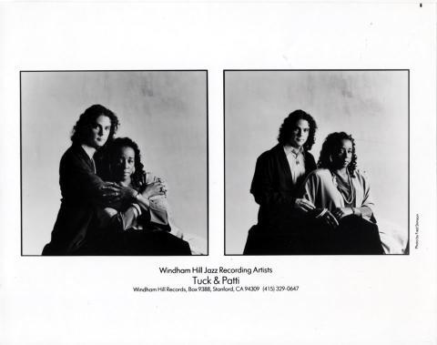 Tuck & Patti Promo Print