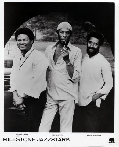 Milestone Jazzstars Promo Print