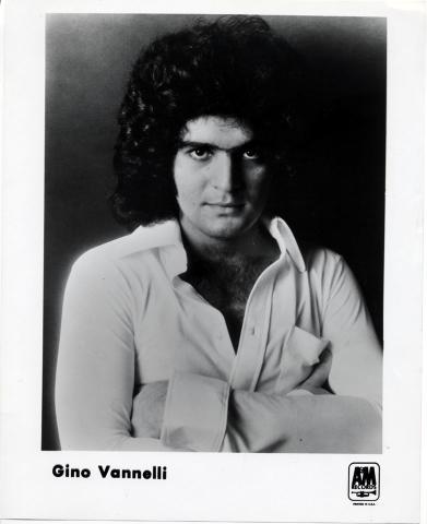 Gino Vannelli Promo Print
