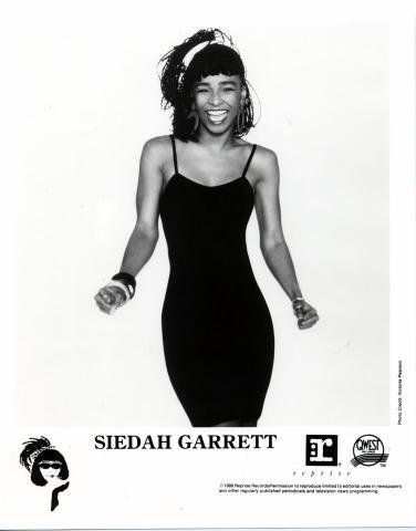 Siedah Garrett Promo Print