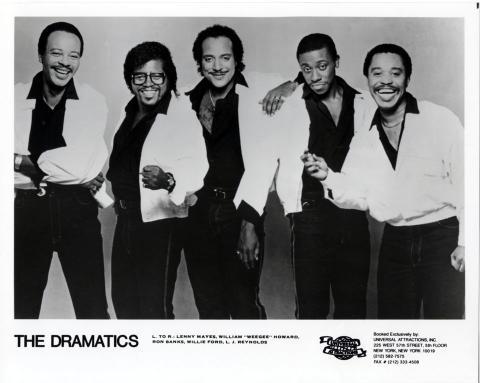 The Dramatics Promo Print