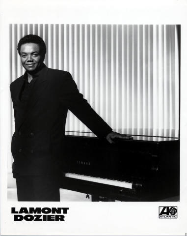 Lamont Dozier Promo Print