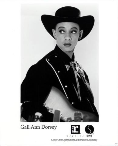 Gail Ann Dorsey Promo Print