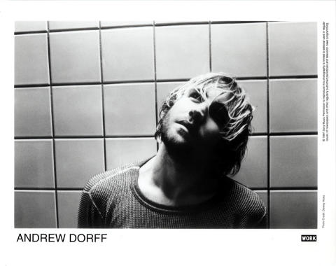 Andrew Dorff Promo Print