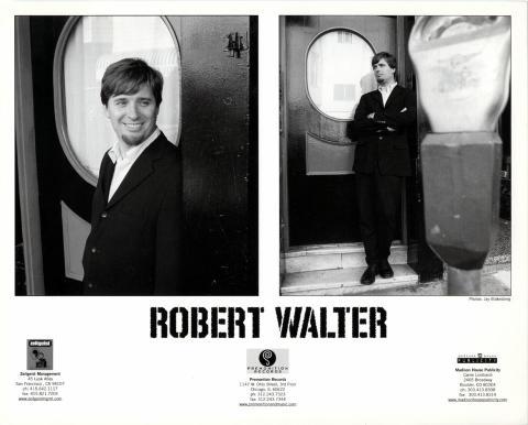 Robert Walter Promo Print