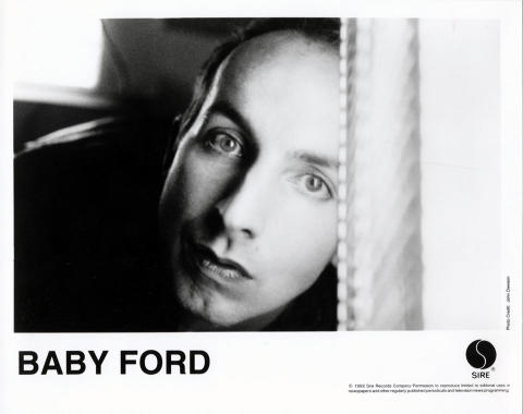 Baby Ford Promo Print