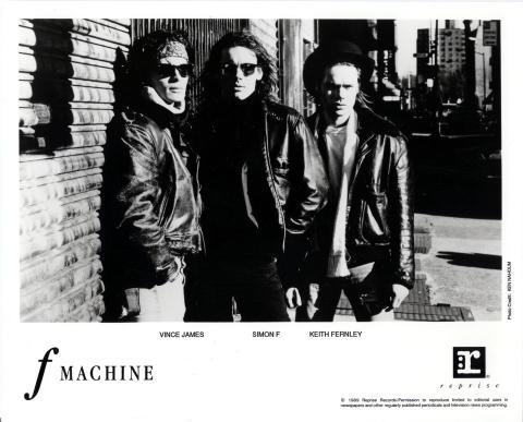 F Machine Promo Print