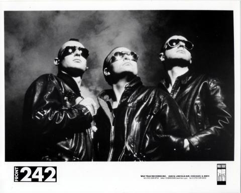 Front 242 Promo Print