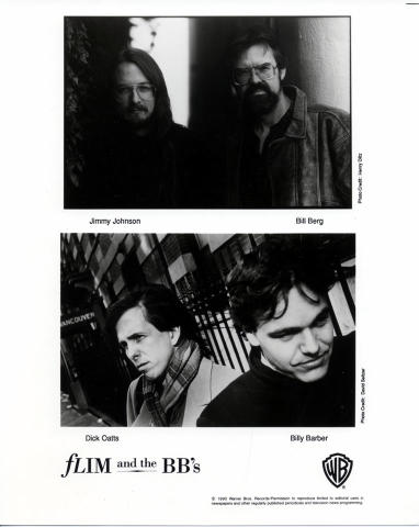 Flim and the BB's Promo Print