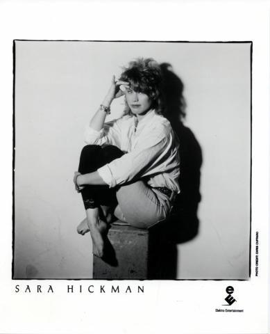 Sara Hickman Promo Print