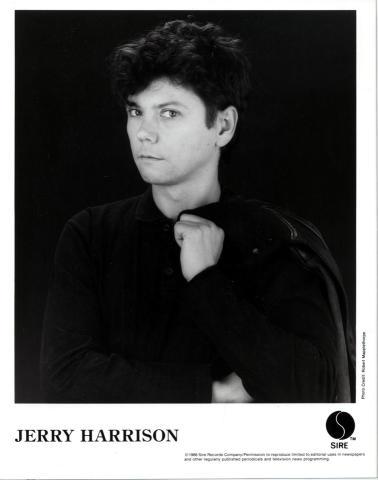 Jerry Harrison Promo Print