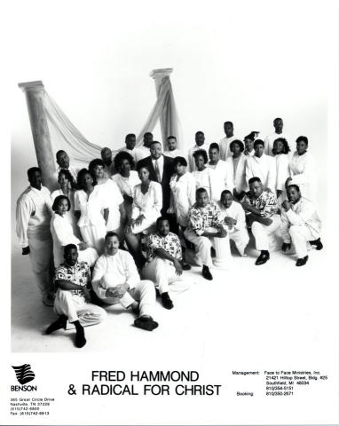 Fred Hammond & Radical for Christ Promo Print