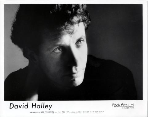 David Halley Promo Print