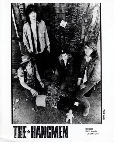 The Hangmen Promo Print