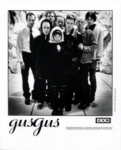 Gus Gus Promo Print