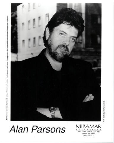 Alan Parsons Promo Print