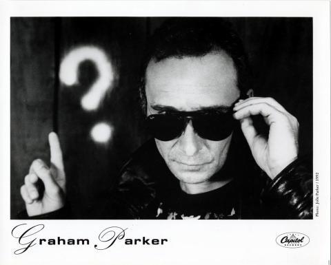 Graham Parker Promo Print