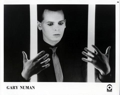 Gary Numan Promo Print