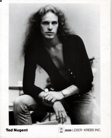 Ted Nugent Promo Print