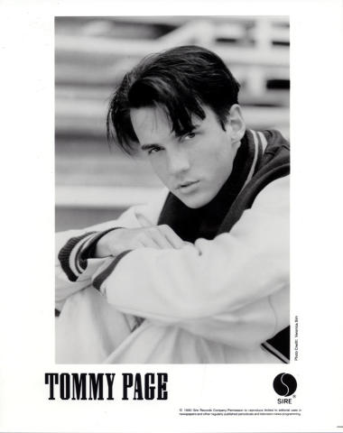 Tommy Page Promo Print