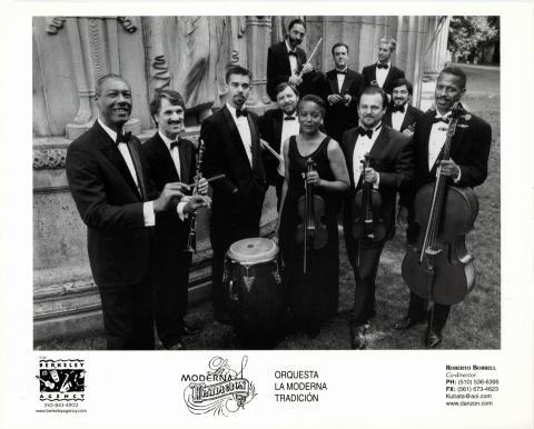 Orquesta La Moderna Tradicion Promo Print