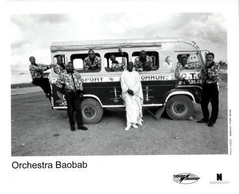 Orchestra Baobab Promo Print