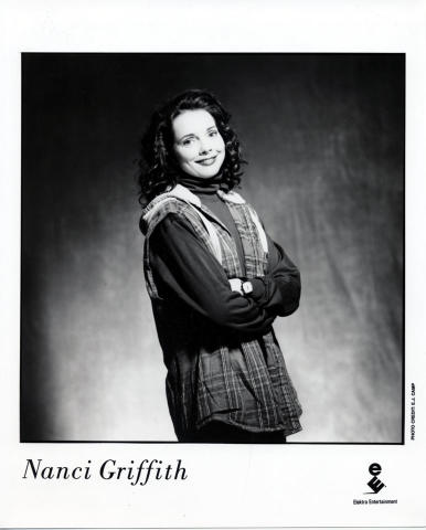 Nanci Griffith Promo Print