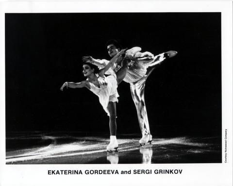 Ekaterina Gordeeva Promo Print