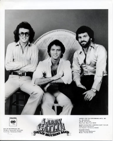 Larry Gatlin & the Gatlin Brothers Band Promo Print