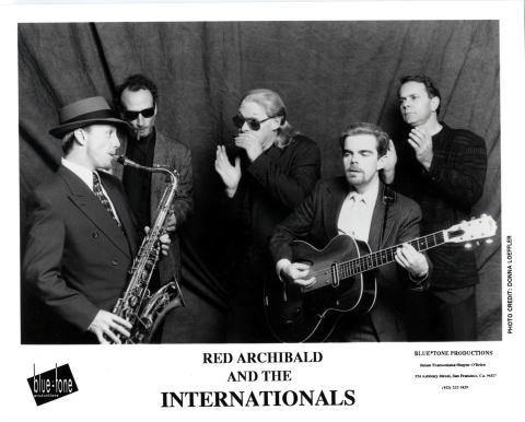 Red Archibald & The Internationals Promo Print