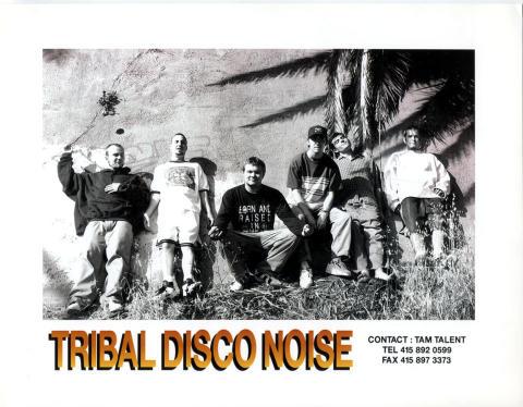 Tribal Disco Noise Promo Print