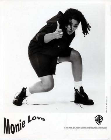 Monie Love Promo Print