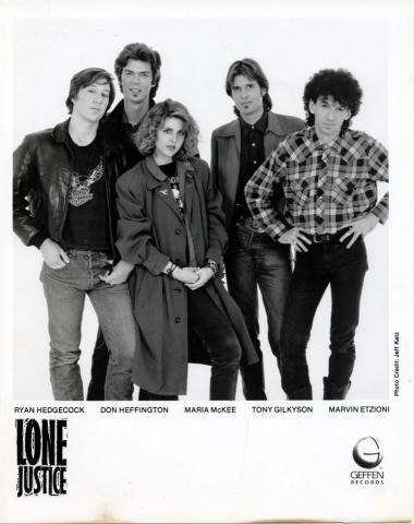 Lone Justice Promo Print