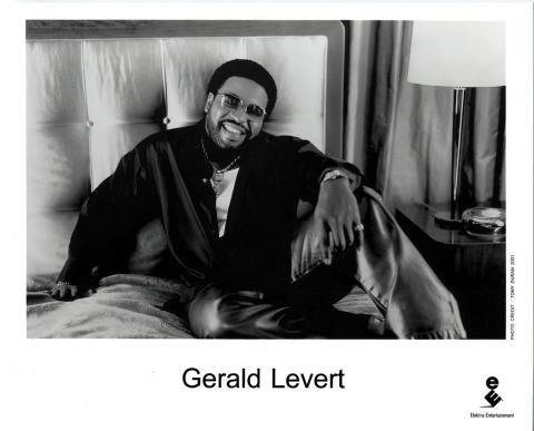 Gerald Levert Promo Print