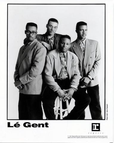 Le Gent Promo Print