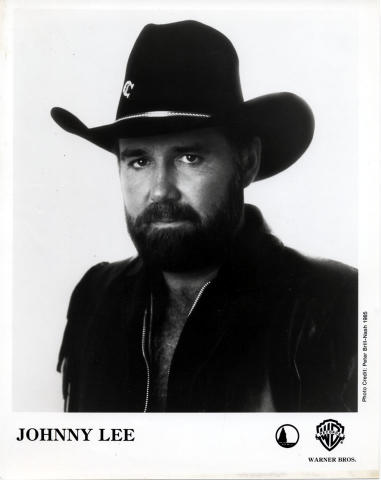 Johnny Lee Promo Print