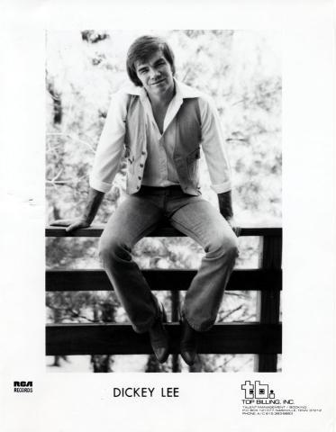 Dickey Lee Promo Print